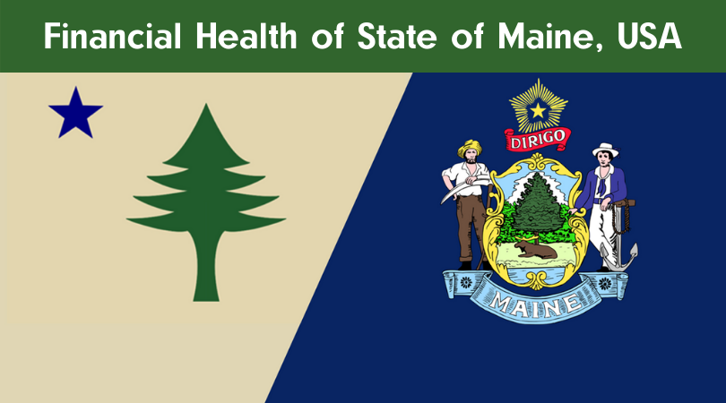 Financial Health of State of Maine, USA